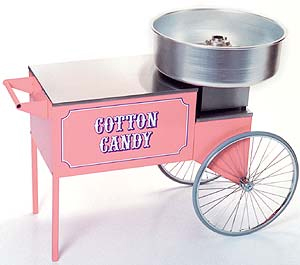 Cotton Candy Cart/Machine