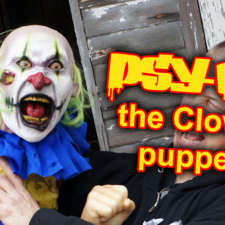 Crazy Clown Puppet