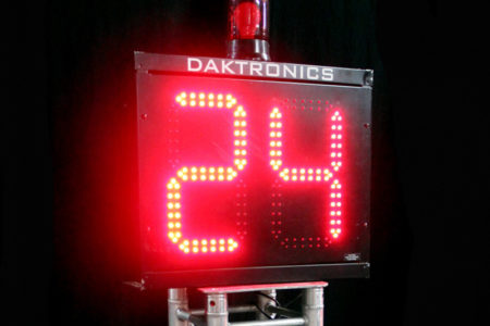 Daktronic Shot Clock