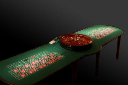 Double Roulette Table