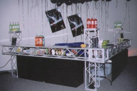 Futuristic Trussing Bar
