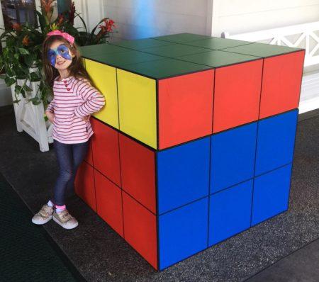 Giant Rube Cube Rental