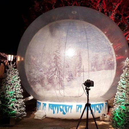 Giant Snow Globe Rental