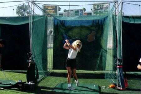 Golf Cage with Pro Radar