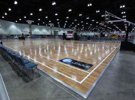 Hardwood Court