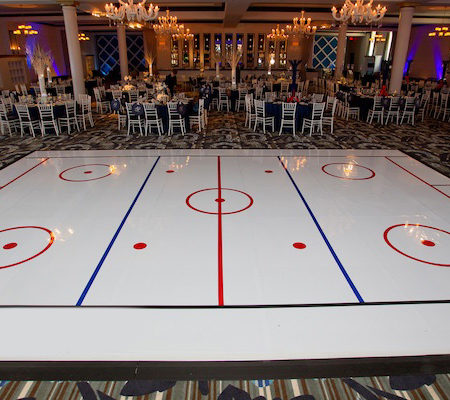 Hockey Dance Floor