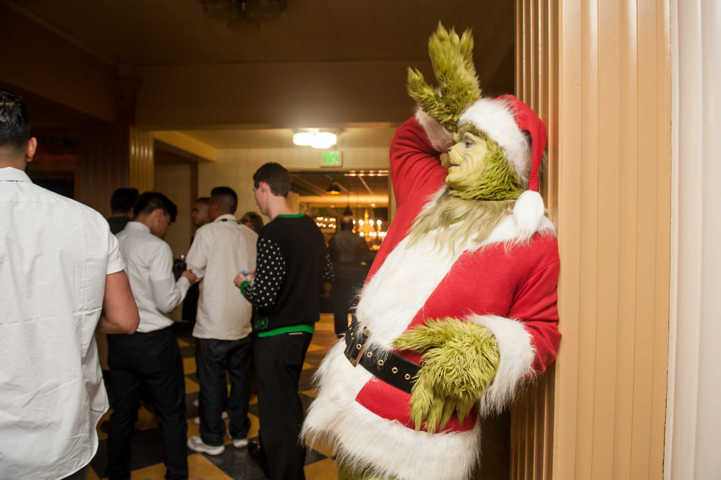 The Grinch Character for Hire