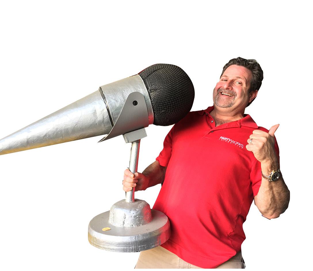 Giant Microphone