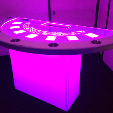 LED Black Jack Table