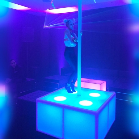 LED Dance Podium