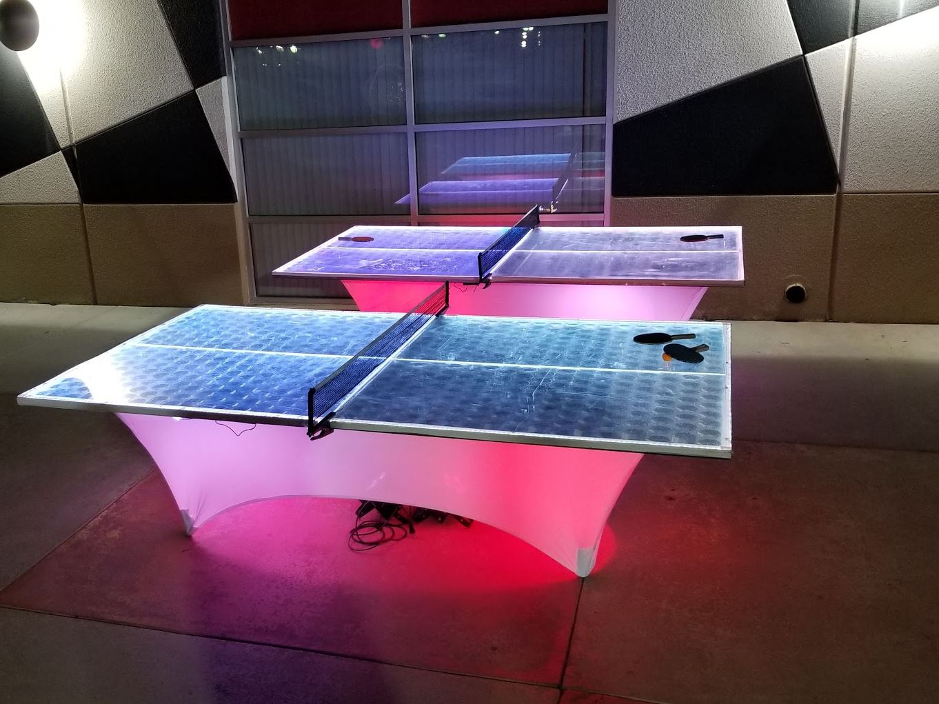 Led Ping Pong Table Partyworks Interactive