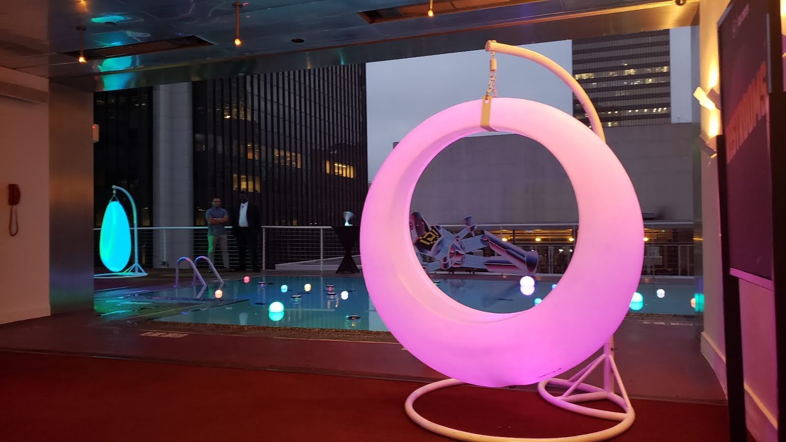Led Swings Rental Partyworks Interactive