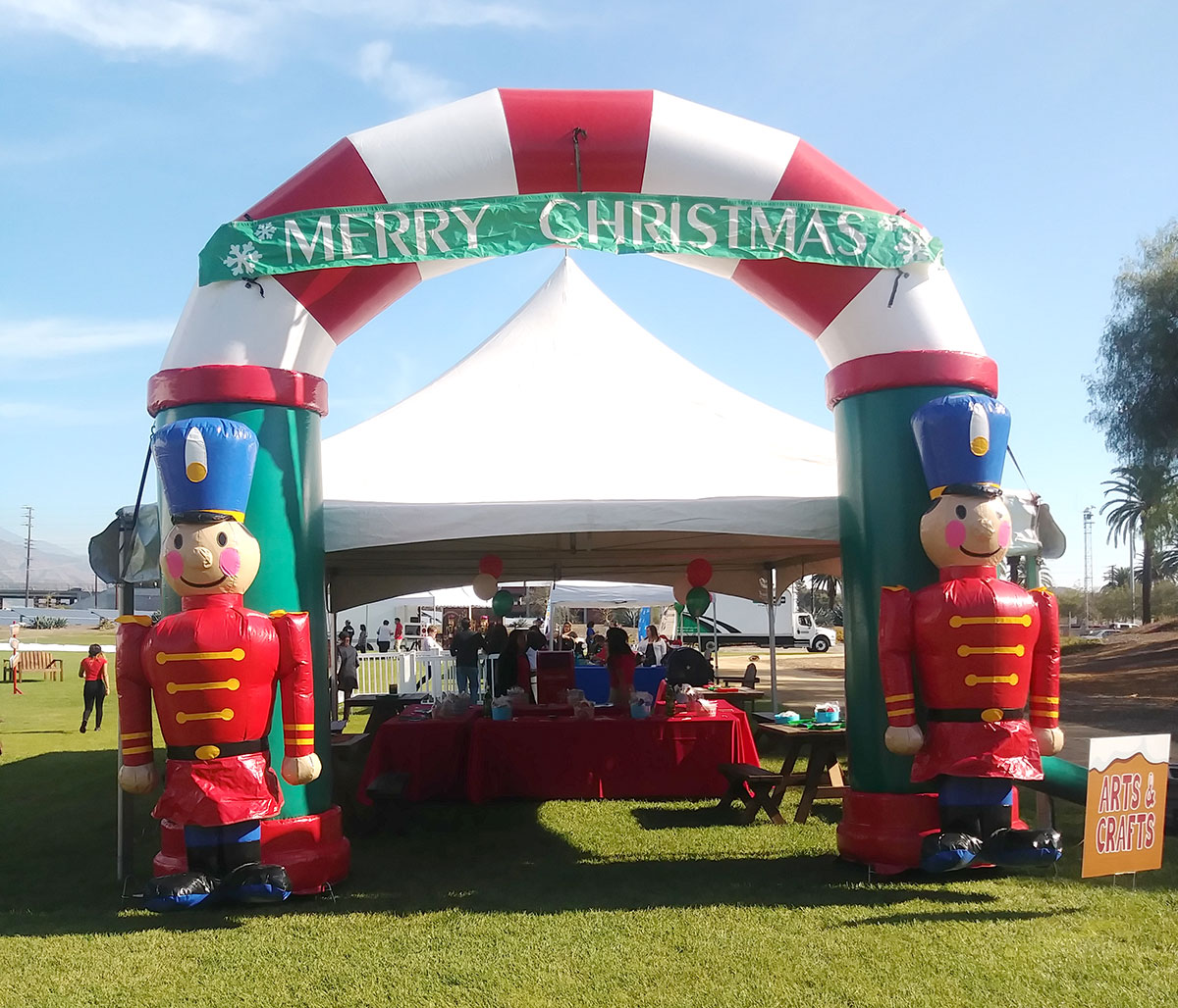 Holiday Inflatable Entrance Arch
