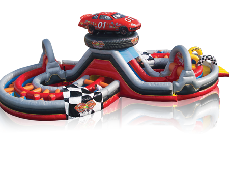 Nascar Figure-8 Obstacle Course