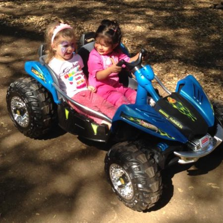 Power wheel racers