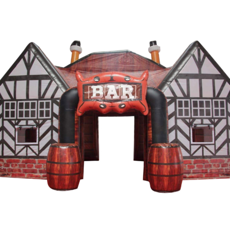 Pub Inflatable With Beer Garden Octoberfest