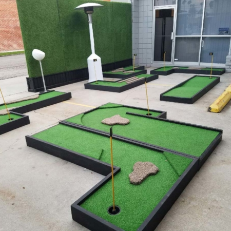 Mini Golf Nine Holes