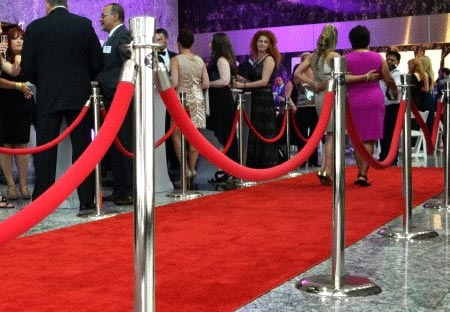 Red Carpet & Stanchions