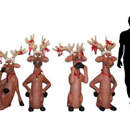 Reindeer Props