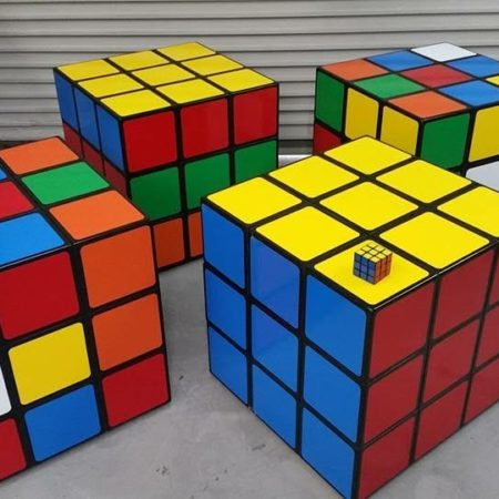 Giant Rube Cube