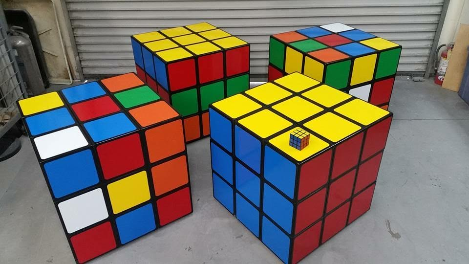 Giant Rube Cube Partyworks Interactive