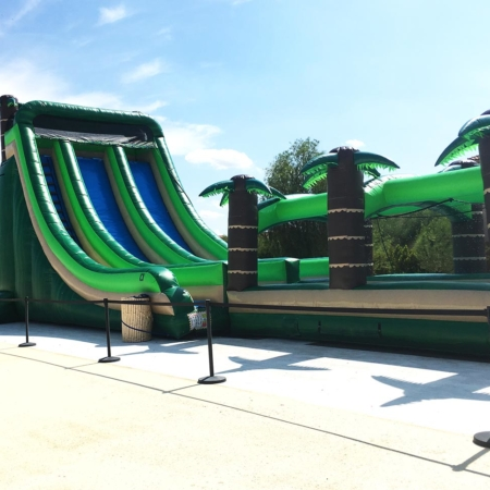 Tropical Slip n Dip ( Large Water Slide )
