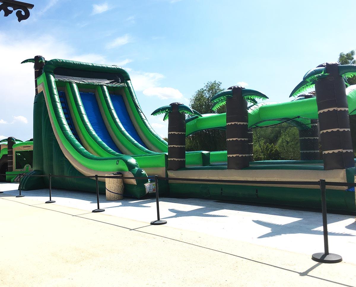 Tropical Slip n Dip ( Large Water Slide )
