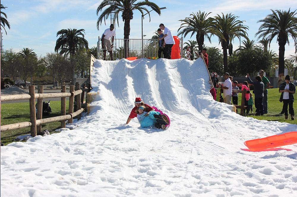Snow Hill Sledding