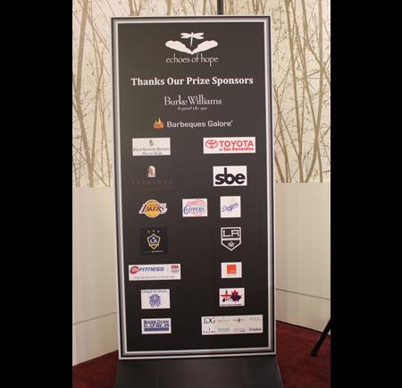 Sponsor Signage