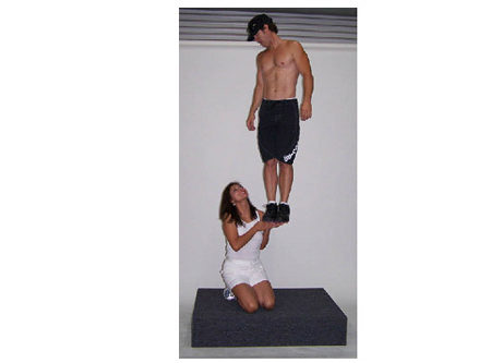 Strongman Photo Illusion