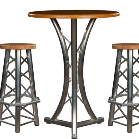 Truss Bar Stool Truss Table