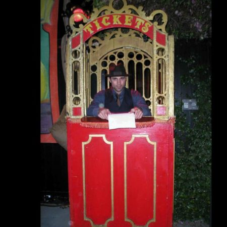 Ticket Booth (Vintage)