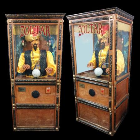 Zoltar the Mechanical Fortune Teller